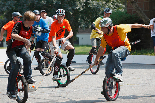 unicycle sports